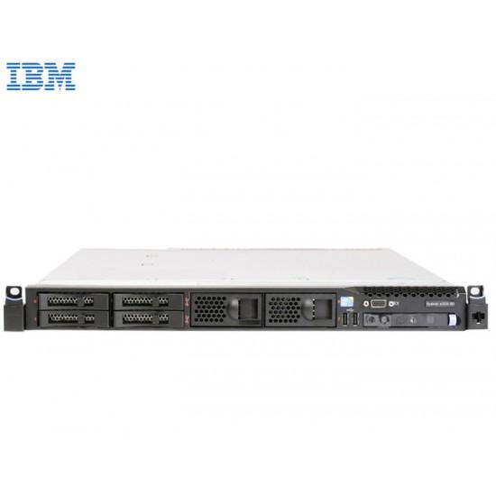SERVER IBM X3550 M3 RACK 1U 1xE5506/3x4GB/M5015-nCnB/4xSFF