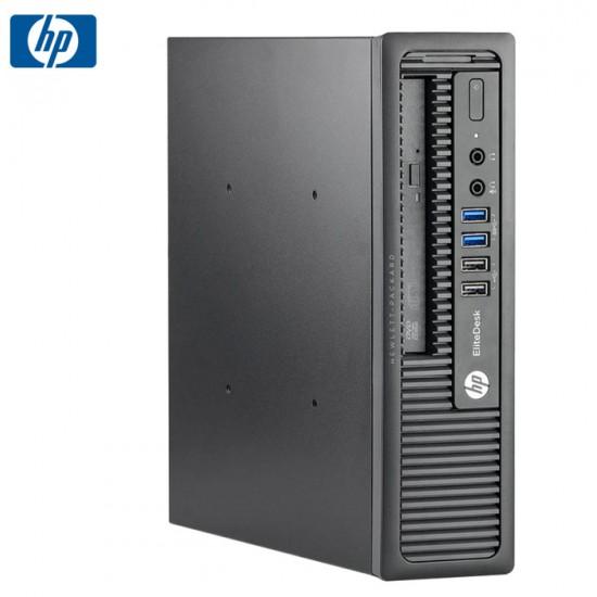 HP 800 G1 USDT I5-4570S/8GB/256GB-SSD-NEW/DVD
