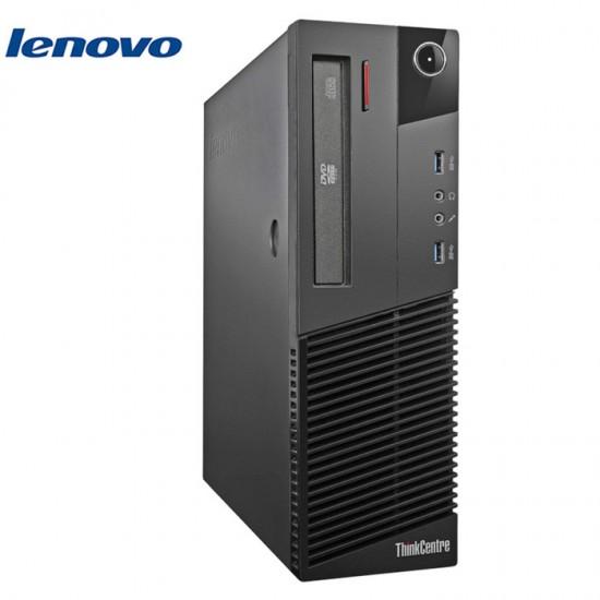 LENOVO M83 SFF I5-4430/4GB/256GB-SSD-NEW/DVDRW