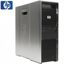 SET WS HP Z600 2x QC-E5520/16GB/500GB/DVD/NVS295/WIN7PC