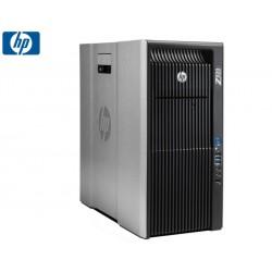SET WS HP Z820 QC-E5-2643/8GB/500GB/DVDRW/HD7450