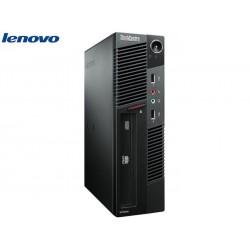 LENOVO M91P USFF I5-2400S/4GB/250GB/DVDRW/WIN7PC
