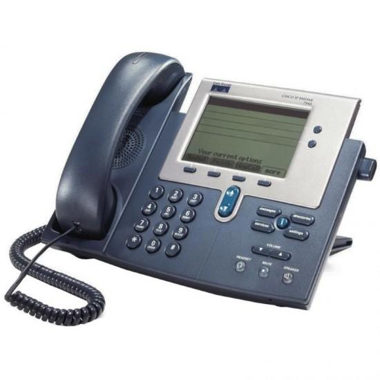 CISCO used IP Phone CP-7940G, Dark Gray