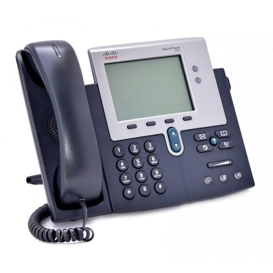 CISCO Unified IP Phone 7941G, PoE, Dark Gray