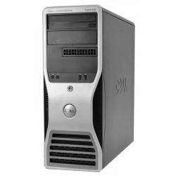 DELL PC T3500 Workstation, W3530, 6GB, 500GB HDD, DVD, REF SQR