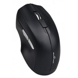 POWERTECH ασύρματο ποντίκι PT-852, 1200DPI, οπτικό, μαύρο