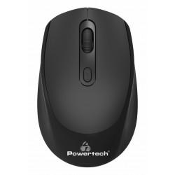 POWERTECH ασύρματο ποντίκι PT-953, οπτικό, 1600DPI, μαύρο