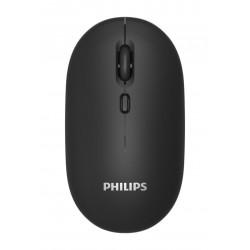 PHILIPS ασύρματο ποντίκι SPK7203, 1600DPI, 4 πλήκτρα, μαύρο