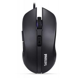 PHILIPS ενσύρματο gaming ποντίκι SPK9313, 6 πλήκτρα, μαύρο