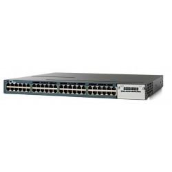 CISCO used Catalyst WS-C3560X-48P-S Switch, 48 ports PoE, Managed